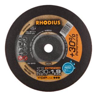 RHODIUS TOPline XT10 Extradünne Trennscheibe