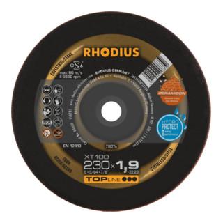 RHODIUS TOPline XT100 EXTENDED Extradünne Trennscheibe