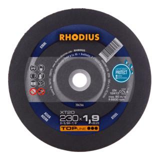 RHODIUS TOPline XT20 Extradünne Trennscheibe