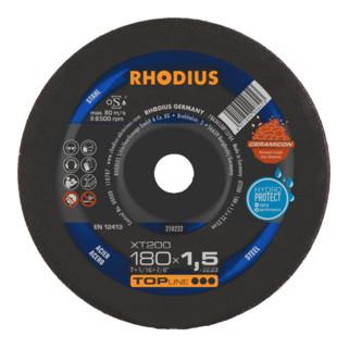 RHODIUS TOPline XT200 EXTENDED Extradünne Trennscheibe