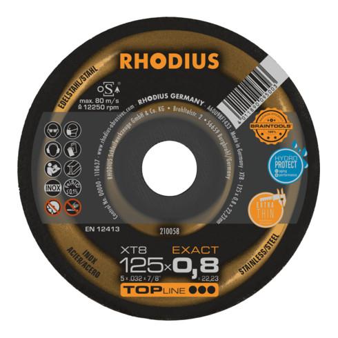 RHODIUS TOPline XT8 EXACT Extradünne Trennscheibe
