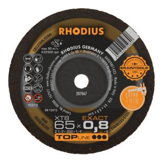 RHODIUS TOPline XT8 EXACT MINI Extradünne Trennscheibe
