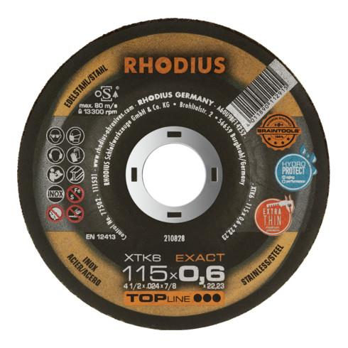 RHODIUS TOPline XTK6 EXACT BOX Extradünne Trennscheibe