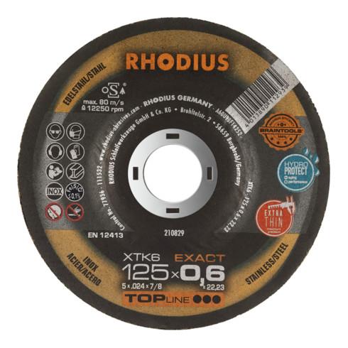 RHODIUS TOPline XTK6 EXACT PACK Extradünne Trennscheibe