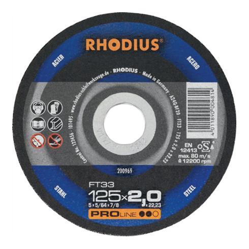 Rhodius Trennscheibe FT 33