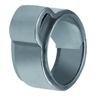 RIEGLER 1-Ohr-Schl.klemme, Einlagering, ES (W4), Spannbereich 10,5-12,5mm