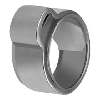 RIEGLER 1-Ohr-Schl.klemme, Einlagering, ES (W4), Spannbereich 16,0-18,3mm