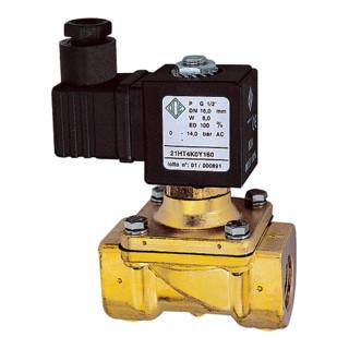 RIEGLER 2/2-Wege-Magnetventil MS NC zwangsgesteuert 230 V 50 - 60 Hz G 3/4