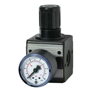 RIEGLER Druckregler 0,5−10 bar 1/4 Zoll