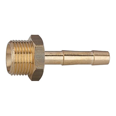 RIEGLER Einschraubschlauchtülle G 1/4 für Schlauch LW 4 mm SW 17 MS