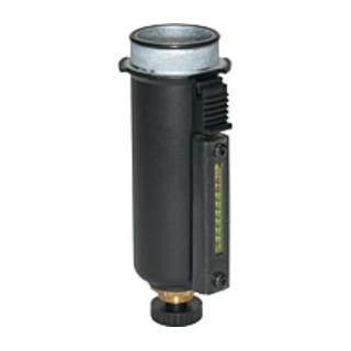 Riegler Metallbehälter mit Sichtrohr inkl. O-Ring für multifix BG 1 FS