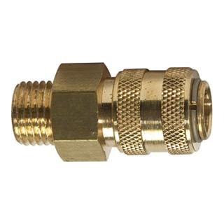 RIEGLER Schnellverschlusskupplung NW 5 connect line MS blank G a