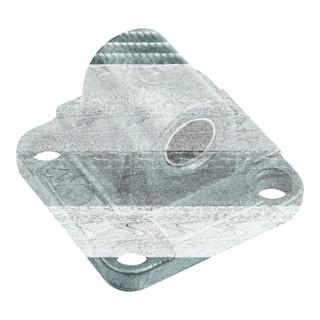 RIEGLER Schwenkaugenbefestigung mit Buchse, ISO 15552, ISO 21287, Ø32