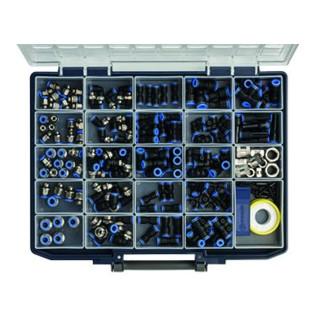 Riegler Sortimentsbox Schnellsteckverbindungen »Blaue Serie«