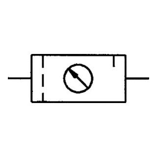 Riegler Wartungseinheit 2-teilig multifix mit PC-Behälter
