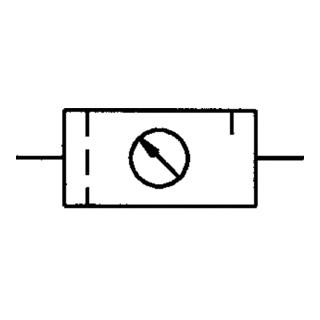 Riegler Wartungseinheit 2-teilig Standard mit PC-Behälter