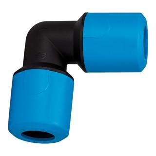 RIEGLER Winkelverbinder PP für Schlauch-Außendurchmesser 32 mm