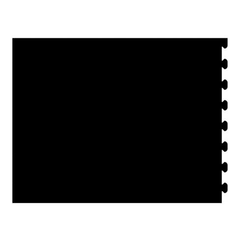 Rocholz Ergonomische Arbeitsplatzmatte Version dry Puzzle-Variante D schwarz