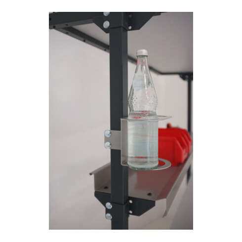 Rocholz Getränkehalter für Flaschen SYSTEM 2000 zur Befestigung an Anbauholmen