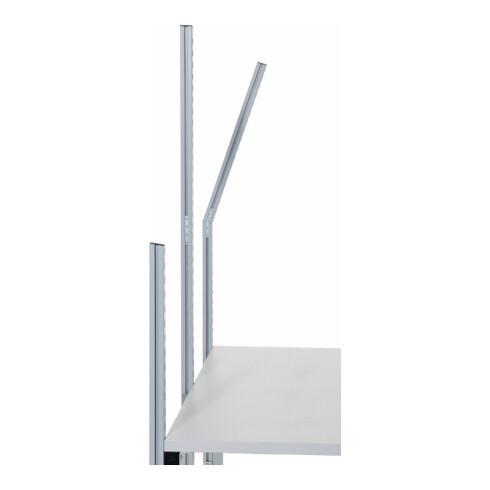 Rocholz HR-Anbauprofil kurz (Basis) SYSTEM FLEX komplett 1033x40x40 mm RAL9006