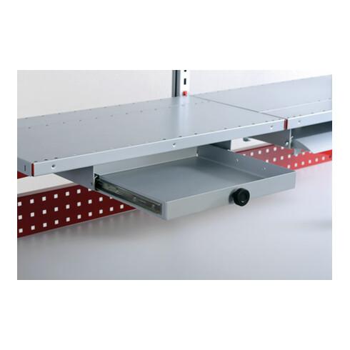 Rocholz Kleinteilfach SYSTEM FLEX ausziehbar komplett für Breite 1000 mm RAL9006