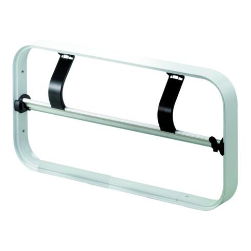 Rocholz Rahmen komplett STANDARD Rollenbreite 50 cm gezahnte Abreißschiene verchromt
