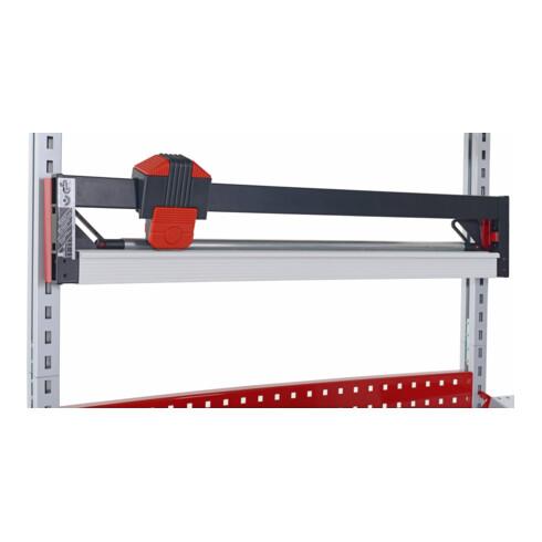 Rocholz Schneidvorrichtung für Packtisch Schnitt B 750 mm HxBxT 150x1000x50 mm schwarz