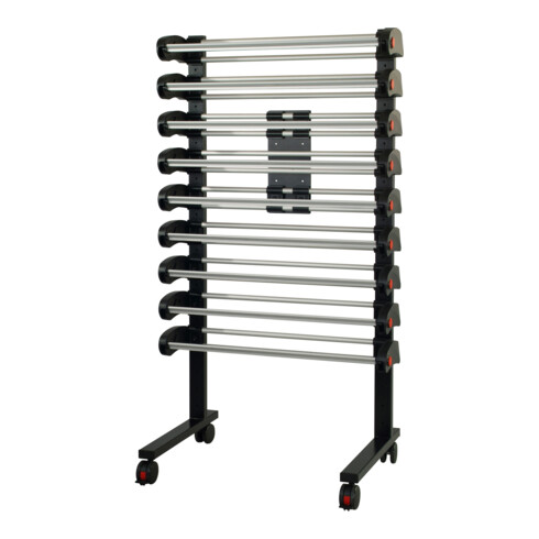 Rocholz Ständer fahrbar MULTI VARIO mit 9 Abroller