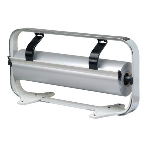 Rocholz Tischabroller STANDARD Rollenbreite 50 cm glatte Abreißkante verchromt