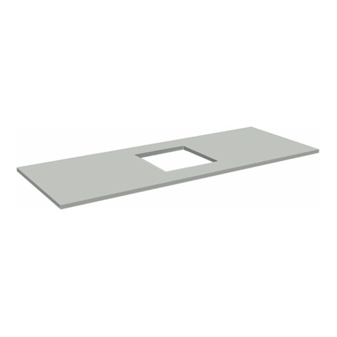 Rocholz Tischplatte Standard SYSTEM FLEX 1200x800x30 mm mit Waagenausschnitt mittig