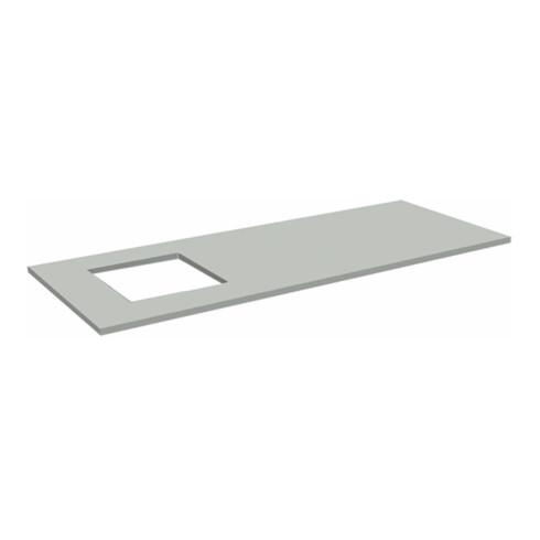 Rocholz Tischplatte Standard SYSTEM FLEX 2000x800x30 mm mit Waagenausschnitt  links oder rechts