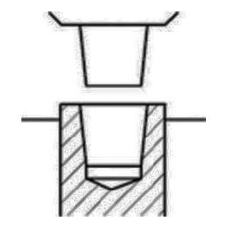 Röhm Schnellspannbohrfutter Supra S Spann-W.1-13mm B16 f.Rechtslauf