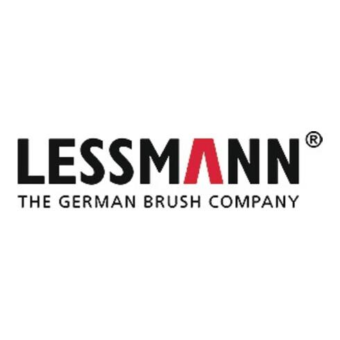Rohrbürste L.115mm D.14mm Stahldraht gewellt Besatz-L.80mm LESSMANN
