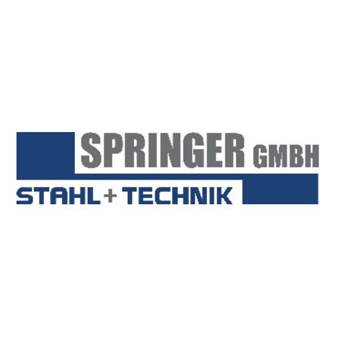 Rohrnippel ISO 228-1 NPS=1 1/2 Zoll L 38mm SPRINGER