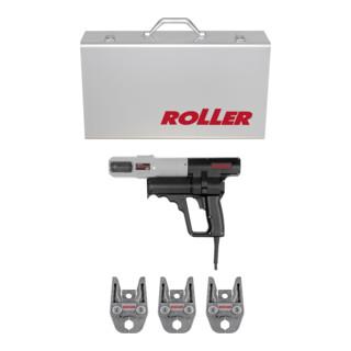 Roller Elektro-Radialpresse Uni-Press ACC Aktions-Set M 15-18-22 mit ACC