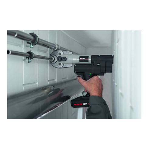 Roller Multi-Press Mini 22V ACC Set V15-18-22 - Hybrid-Radialpresse Ø 10-40 mm