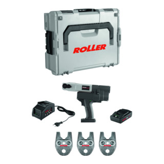 ROLLER Multi-Press Mini 22V ACC Set V15-18-22 - Hybrid-Radialpresse Ø 10-40 mm