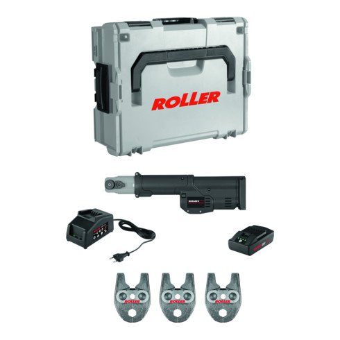 Roller Multi-Press Mini S 22V ACC Set M - Hybrid-Radialpresse Ø 10-40 mm
