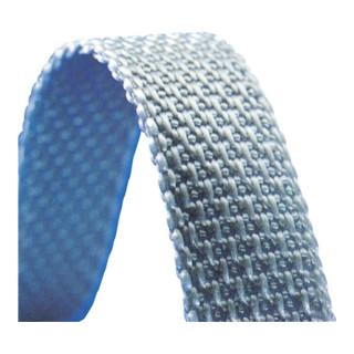 Rollladen-Gurtband Rl. grau Gurtbreite 22mm Gurtlänge 50 m Gurtstärke 1,7mm