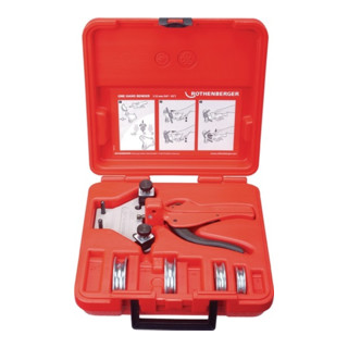 Rothenberger Biegegerät 5-teilig, zum Biegen bis 90° (Ø 5-12 mm)