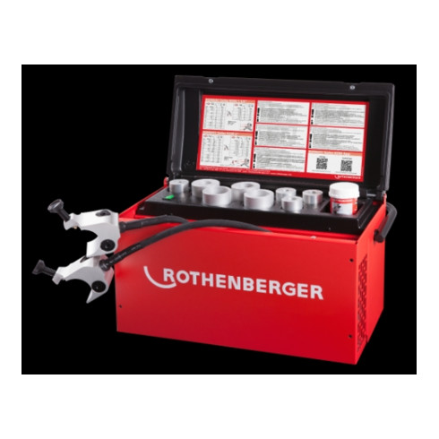 """Rothenberger Einfriergerät ROFROST TURBO R290, 2"""" + 8 Reduziereinsätze"""