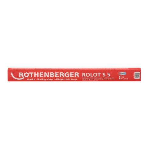 Rothenberger Hartlot ROLOT S 5, ähnlich ISO 17672, 2x2x500 mm, 1 kg