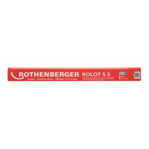 Rothenberger Hartlot ROLOT S 5, nach ISO 17672, 2x2x500 mm, 1 kg