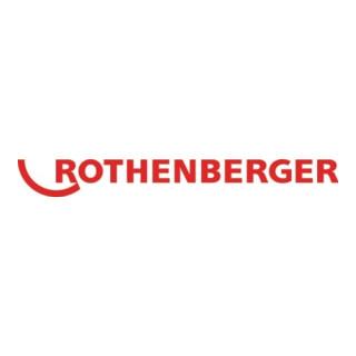 Rothenberger Kettenschleuderkopf L.155mm ohne Ring, m. 4 Ketten