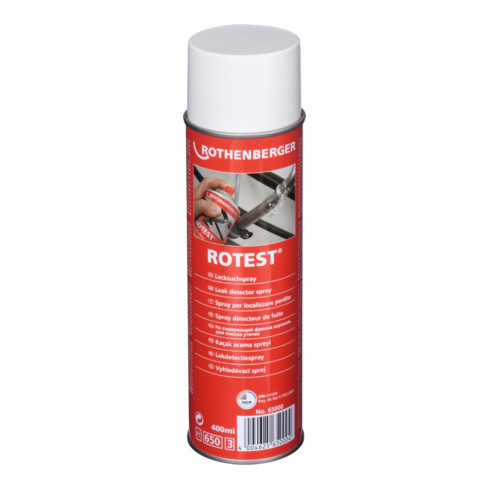 Rothenberger Lecksuchspray ROTEST® DVGW farblos 400 ml Spraydose