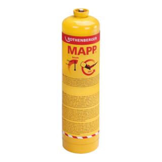 "Rothenberger MAPP Gas, 7/16""-EU, Sprachversion C (CZ, PL, HU, BG, TR, RO)"
