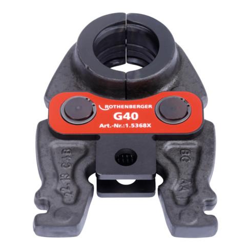 Rothenberger Pressbacke Compact G 40 mm System G PEX / Multilayer G