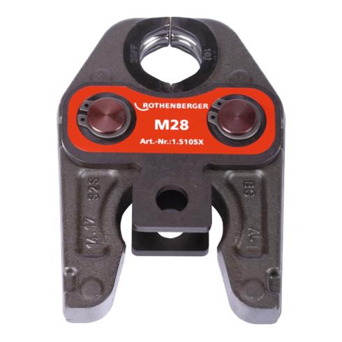 Rothenberger Pressbacke Standard M28 Metall / NE-Metal
