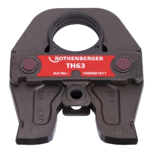 Rothenberger Pressbacke Standard TH63, 3-gliedrig