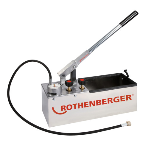Rothenberger Prüfpumpe RP 50 S INOX 0-60bar 45ml/Hub